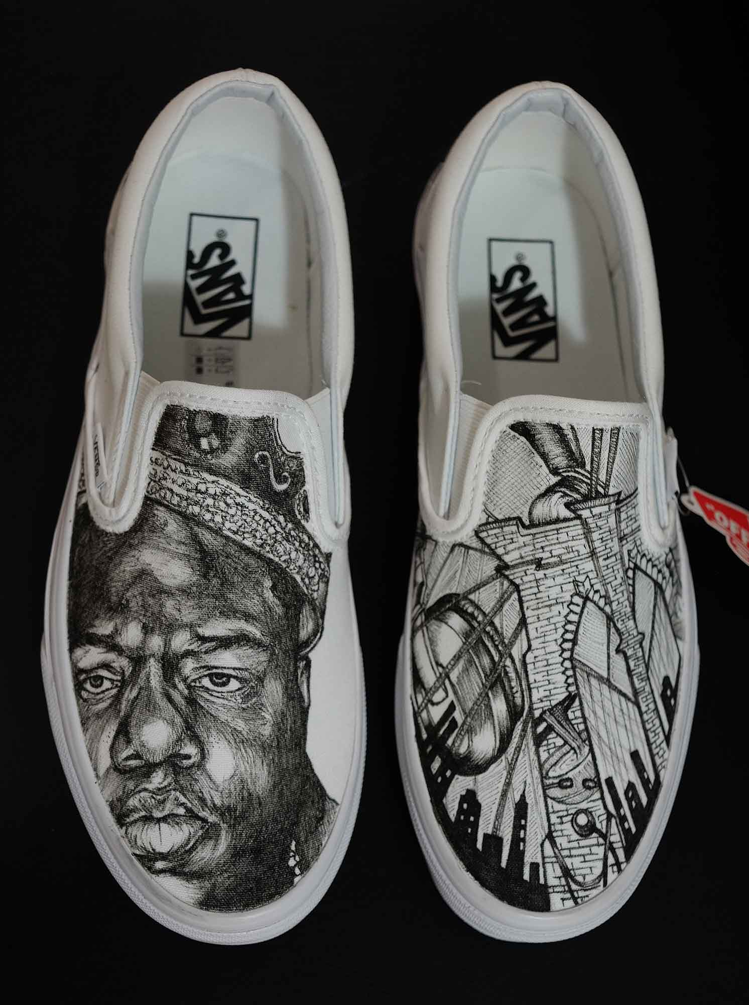Inked Kicks Project – Painted Shoes